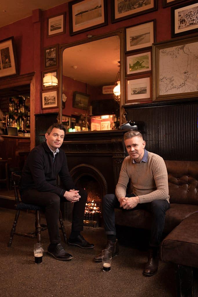 Bryne & Kelly In The Pub